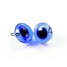 Глазки стеклянные голубые GE1146