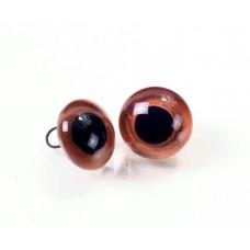 Глазки стеклянные с окрашенным основанием GE1166