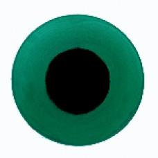 Глазки стеклянные зеленые GE1202