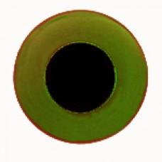 Глазки стеклянные оливковые GE1304